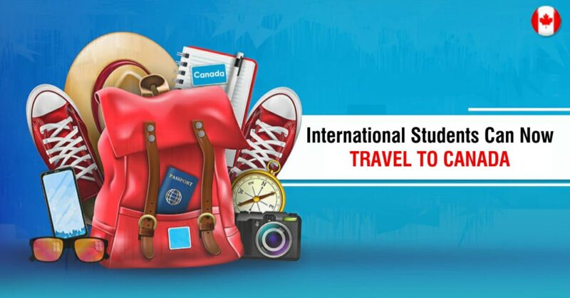 International Students can now travel to Canada